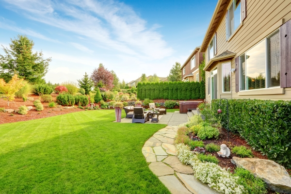 Patio Landscape Photo